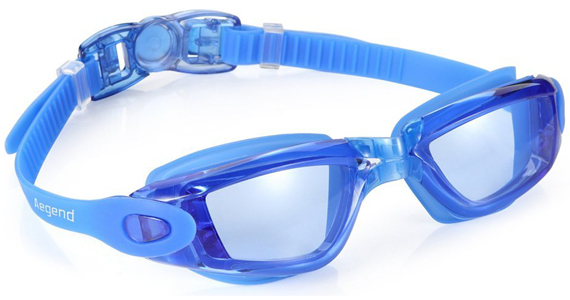 Aegend Light Blue Goggle
