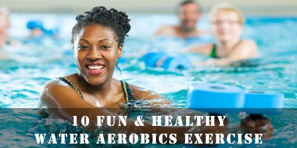 Water Aerobics Exercises List